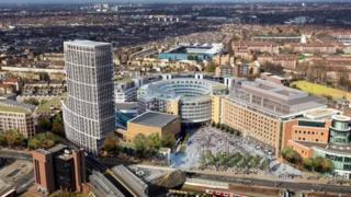 Proposed design of BBC Television Centre