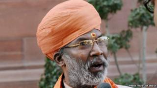 India BJP MP Sakshi Maharaj