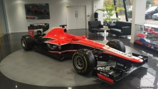 Marussia administration auction