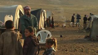 Yazidis on Mount Sinjar