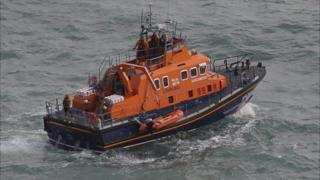 RNLI relief lifeboat Daniel L Gibson