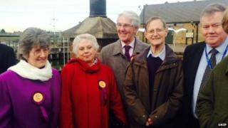 Ukip's five West Norfolk and King's Lynn borough councillors