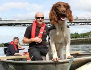 K9 Search and Recovery on the Clyde
