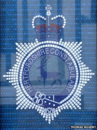 Hertfordshire Police crest