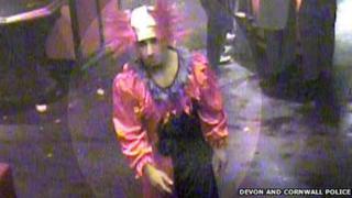 Man dressed as a clown