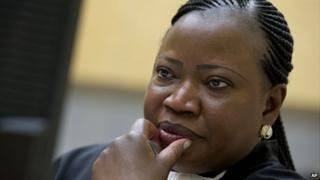 ICC prosecutor Fatou Bensouda (file image)