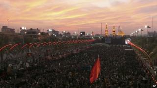 Worshippers celebrate Arbaeen in Iraq