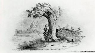 Charlotte Brontë sketch