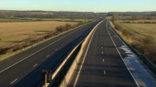 Closed motorway