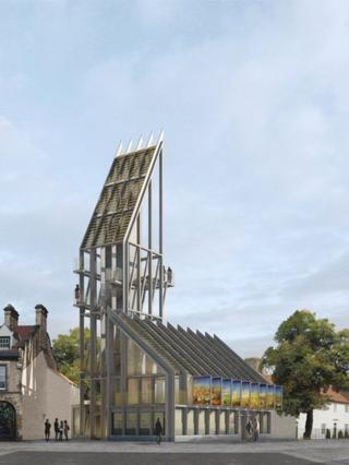 Proposed new visitor centre at Auckland castle