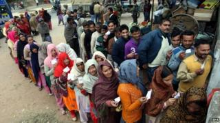 Elections will conclude in Indian-administered Kashmir on 20 December
