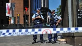 Sydney cafe hostage-taking