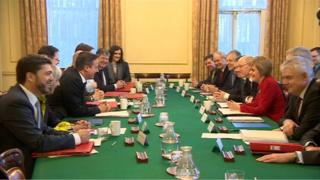Joint Ministerial Committee meeting in Downing Street