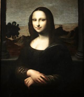 Earlier Mona Lisa