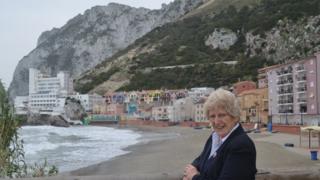 Elizabeth Butler-Sloss in Gibraltar