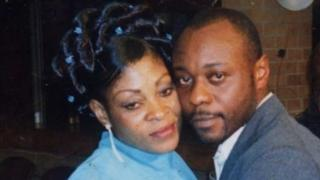 Adrienne and Jimmy Mubenga