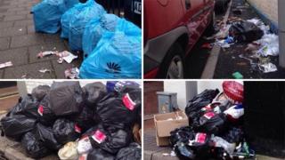 Rubbish in Weymouth