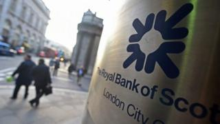RBS branch in city