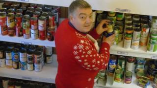 Ebbw Vale food bank
