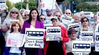 East Sussex bus campaigners