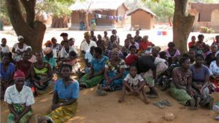 Villagers in Malawi