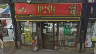 The Hush shop in Taunton