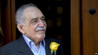 File photo of Gabriel Garcia Marquez from 6 March, 2014 in Mexico City