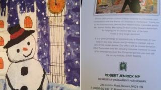 MP Robert Jenrick card