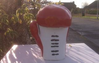 Stolen boxing glove ornament
