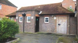The former public toilet in Church Street, Walton-on-Thames