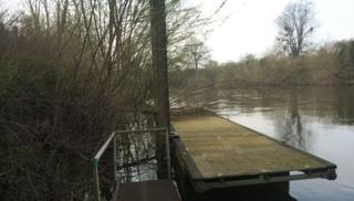 The money will be used to create a flood barrier by the River Severn riverbank at Northwick