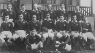 Scotland rugby team, 1914