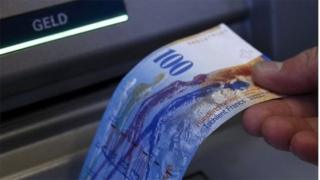 Swiss 100 franc note