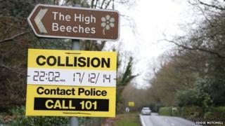 High Beeches Lane, Handcross