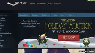 Screengrab of Steam store