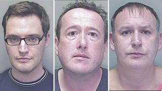 Ben Pickering, Paul John and Mark Cainen