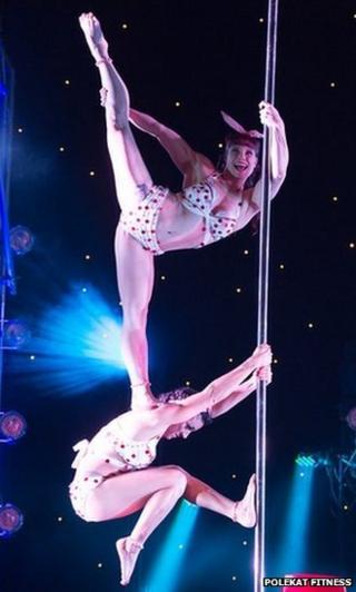 Nottingham pole dancers' medal hopes for Beijing world championship