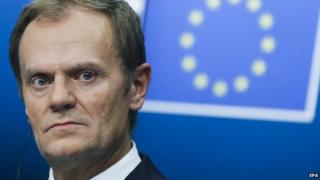 Donald Tusk, the former Polish prime minister