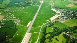 The former RAF Coltishall base