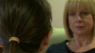 Kathleen telling her story