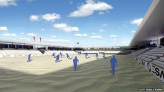 Sandbanks proposed arena