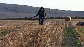 Alistair McPherson in field