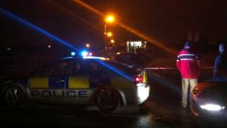 The police and bomb disposal officers were called to the alert outside Portadown
