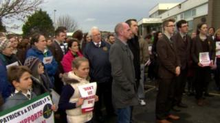 Patients and protesters won a temporary reprieve for Dalriada Hospital earlier this month