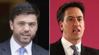 Stephen Crabb and Ed Miliband