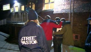 Man carried to Emelia's unit
