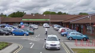 The Co-operative Supermarket in Bridgend