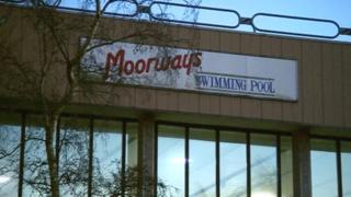 Moorways swimming pool