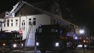 Fire at Medina House