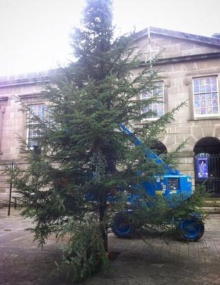 New Bodmin Christmas Tree